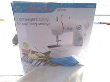 Lil Sew & Sew by Tivax LSS 202 Sewing Machine + Accessories