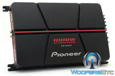 PIONEER GM-A6704 4CHANNEL 1000W COMPONENT SPEAKERS TWEETERS CAR STEREO AMPLIFIER