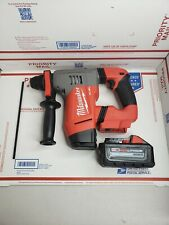 New Milwaukee 2715-20 M18 FUEL 1-1/8 in. SDS Plus Rotary Hammer and 8.0ah