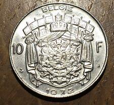 PIECE DE 10 FRANCS BELGIQUE 1972 (205)
