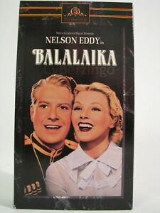 Balalaika Nelson Eddy ILona Massey VHS Tape