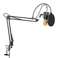Neewer NW-800 Studio Condenser Microphone with Suspension Scissor Arm Stand Kit