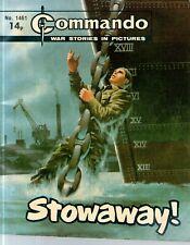 COMMANDO COMICS 1461 - Stowaway !