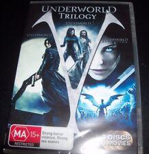 Underworld Trilogy (Kate Beckinsale) (Australia Region 4) DVD – New