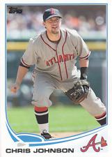 2013 Topps Update #US195 Chris Johnson Atlanta Braves