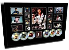 NEW ELVIS PRESLEY SIGNED LIMITED EDITION FRAMED MEMORABILIA