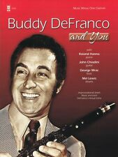 Buddy DeFranco and You Music Minus One Book and Cd New 000152968