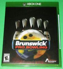Brunswick Pro Bowling Microsoft Xbox One *New! *Factory Sealed! *Free Shipping!