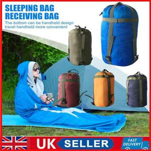 UK Compression Stuff Sack Outdoor Camping Hiking Sleeping Bag Storage Bags