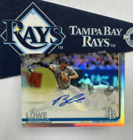 2019 Topps Chrome Update BRANDON LOWE AUTOGRAPH RC Tampa Bay RAYS HOT!! AUTO