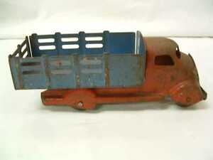"Vintage 1937 Studebaker Truck ~ Marx ~ Made in USA ~ 7"" Long"