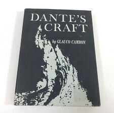 Dante's Craft by Glauco Cambon; Vintage Hardcover 1969 RARE