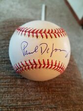 Paul DeJong cardinals signed game used official major league baseball exac proof