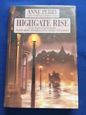 HIGHGATE RISE - FIRST EDITION SIGNED BY ANNE PERRY