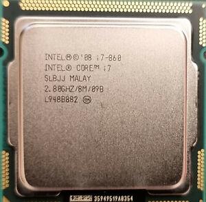 Intel Core i7-860 2.8 GHz Quad Core LGA 1156 CPU SLBJJ (BV80605001908AK)