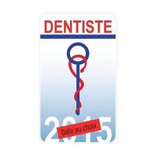 Caducée Dentiste sticker autocollant