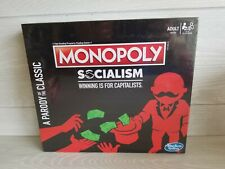 Monopoly Socialism Board Game Parody Adult Party Game Factory Sealed Brand New