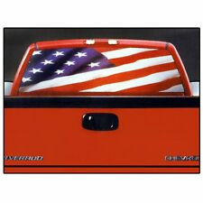 USA American Waving Flag Rear Window Graphic Decal for Truck SUV