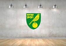 Norwich City Football Club FC  - Wall Sticker Poster Mural Decal Art
