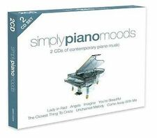 Simply Piano Moods 0698458025821 by Various Artists CD