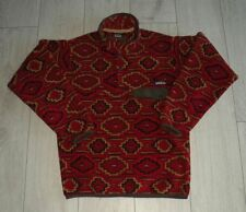 """Patagonia Synchilla Snap-T """"XS"""" *Vintage* Red Pullover Mens Jacket Jacke Fleece"""