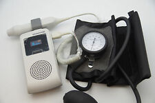 SD3 Gen2 of Sonotrax Vascular Doppler , 8MHZ ABI KT, OLED w/ attached Guage Cuff
