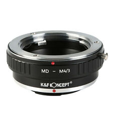 K&F Concept Adapter for Minolta MD MC Lens to Micro 4/3 M4/3 Mount Adapter G3 G2