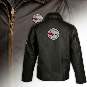 Mens C1 Racer Heavyweight Long Leather Jacket Final Clearance 3X - 5X 620340