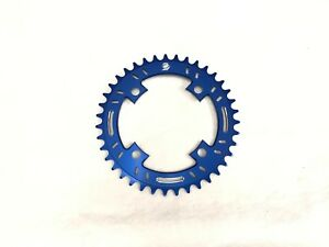 Snap BMX Products S4 104mm 4 bolt Chainring - 38t Blue