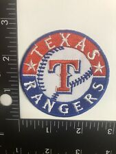 Texas rangers iron on patch