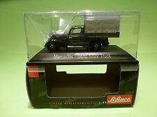 SCHUCO 02264 MERCEDES 170V TRUCK - PLANENWAGEN  BUNDESBAHN - 1:43 - MINT IN BOX