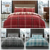 Thermal Teddy Duvet Set Cover Warm Adult Cosy Quilt Fuzzy Double King UK Bedding