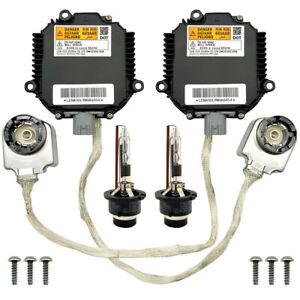 2x New For 03-06 Infiniti G35 Xenon Ballast Igniter HID D2R Light Bulb Lamp Kit