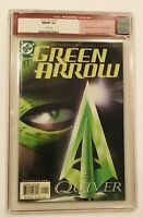 GREEN ARROW #1 KSMITH May 2001, DC Comics, CGC 9.8 OLD RED MODERN LABEL NM/MT