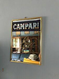 Vintage Collectable Campari Bar/Man Cave Mirror