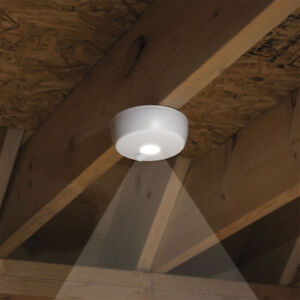 Mr. Beams MB980 Wireless Battery Indoor/Outdoor Motion-Sensing LED Ceiling Light