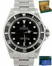 MINT 2001 Rolex Submariner No-Date 14060 M P Stainless Black Dive 40mm Watch