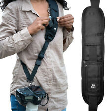 HiiGuy Camera Strap Nikon l Canon, Extra Long Neck Strap with Quick Release