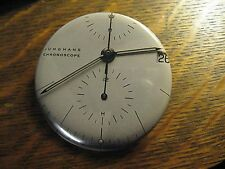 Junghans Pocket Mirror - Repurposed Chronoscope Watch Magazine Lipstick Mirror