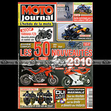 MOTO JOURNAL N°1890 ★ KAWASAKI 650 VERSYS ★ BROUGH SUPERIOR ★ BMW R 1200 GS 2010