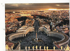 """""""St. Peter's Square Vatican"""" /In Rome/  (C24) {Postcard}"""