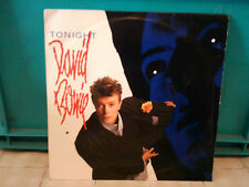 "david bowie""tonight""single7""or.fr.pathé:2004437.de 1984.+ encart pour juke-box"