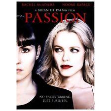 Passion (DVD, 2013) Rachel McAdams Noomi Rapace Brian DePalma
