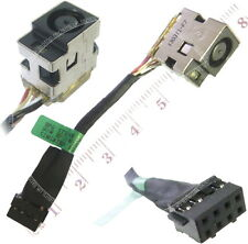 HP 1000-1048TX DC Jack Charging Port Socket Connector W/ Cable Harness