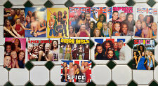 Spice Girls Postcard Collection X 13 Original