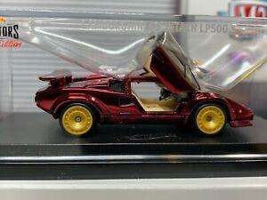Hot Wheels RLC '82 Lamborghini Countach LP500 S 2019 Red Line Club #10846/12500