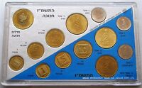 Israel 1986 Coins Set & 1987 Hanukka Official Mint Coins Set Uncirculated