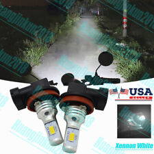 H11 H8 H9 Motorcycle Led Headlights Bulbs Kit High/Low 100W 11000Lm 6000K White