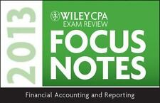 Wiley CPA Examination Review 2013 Focus Notes, Financial Accounting and Reportin