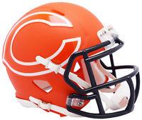 Riddell Chicago Bears AMP Alternate Speed Mini Football Helmet